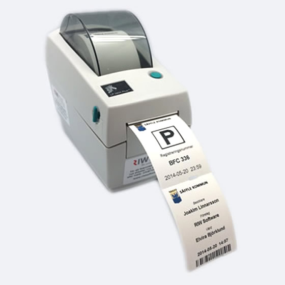 Badge Printer Zebra 2824