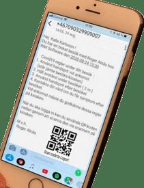 Corona mobil web